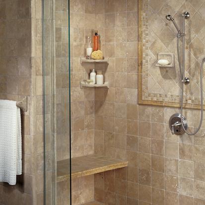 Варианты отделки ванной комнаты - фото