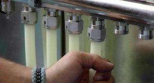 Подключение коллектора теплого пола