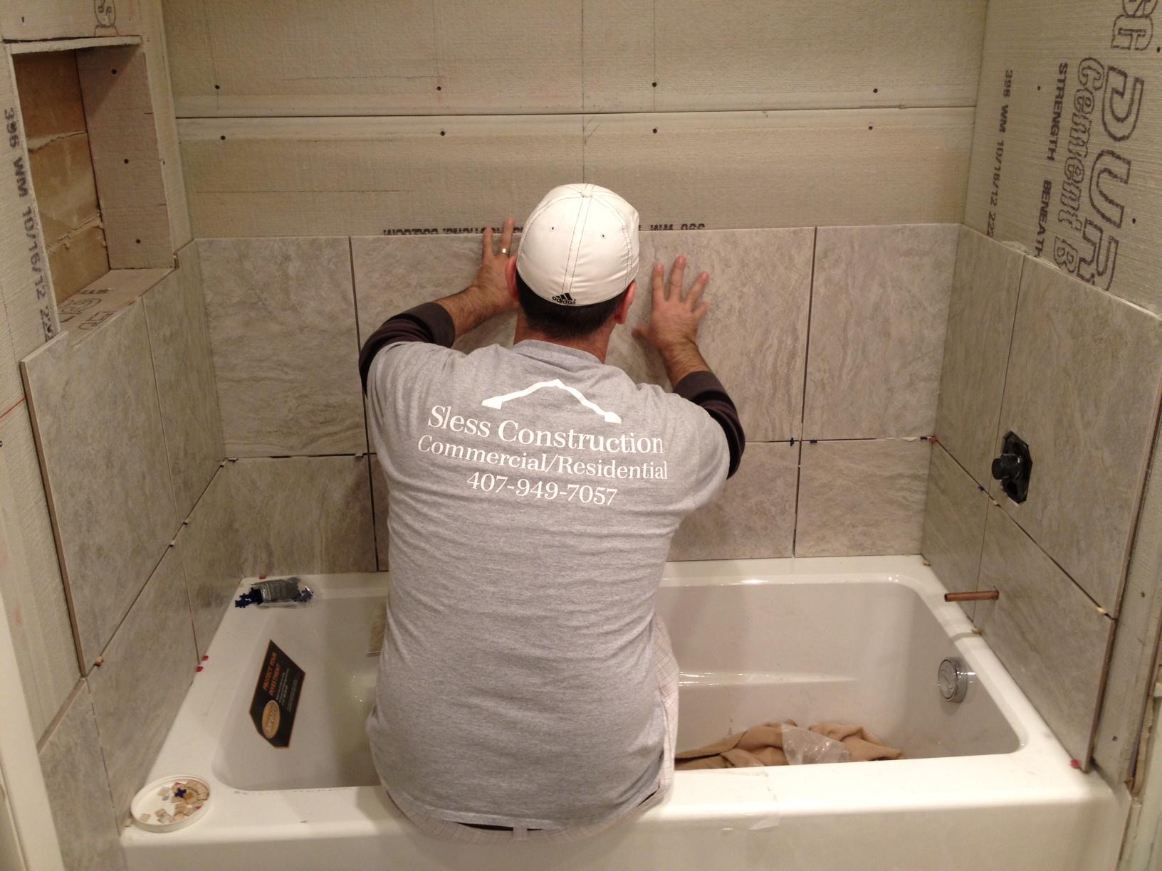 Как положить плитку на гипсокартон в ванной своими руками