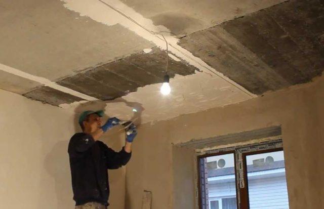 Натяжной потолок своими руками: подготовка поверхности