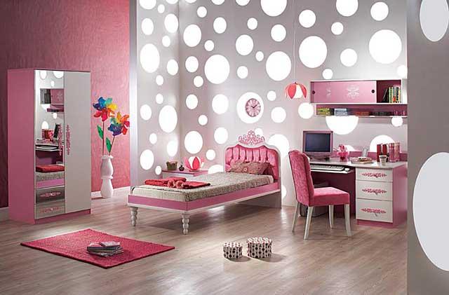 Дизайн детской комнаты для девочки 7