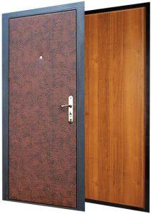 Входная дверь металлическая эконом класса