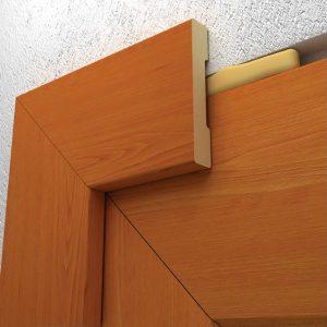 наличник который вместе с дверной металлической коробкой является единым целым