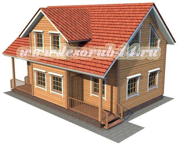 Технология строительства дома из