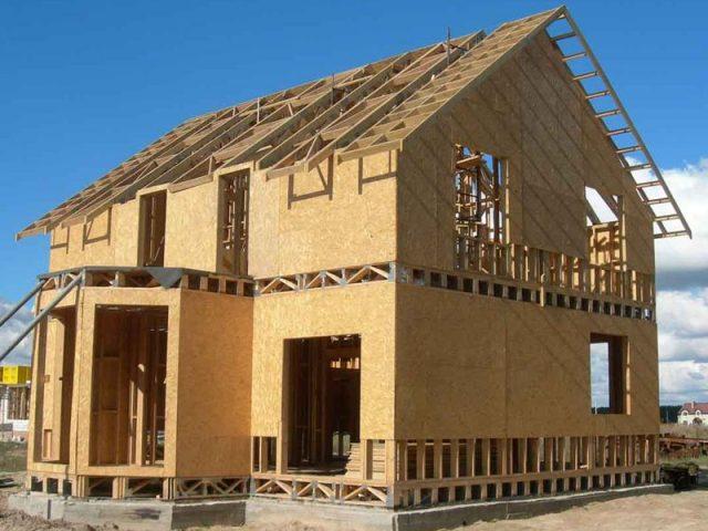 строительство каркасных домов цены