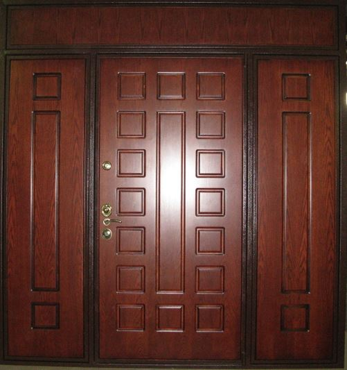 Металлические утепленные входные двери