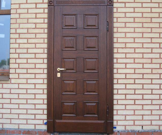 двери входные уличные цена установка