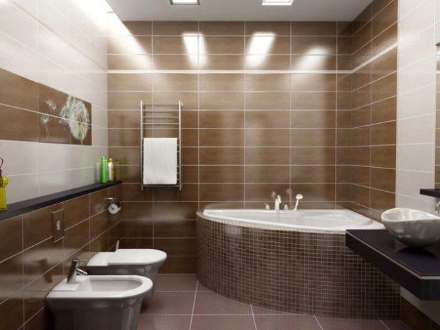 Идеи ремонта ванной фото с керамической плиткой