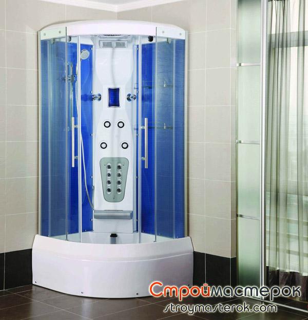 Душевые кабинки в современных ванных