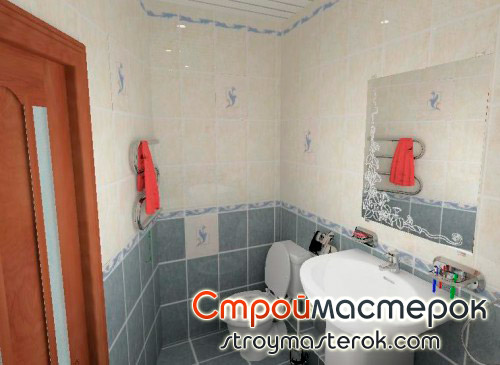 Интерьер ванной комнаты в хрущевкеИнтерьер ванной комнаты в хрущевке