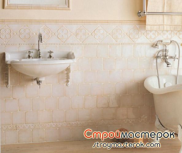 отечественная керамическая плитка для ванной