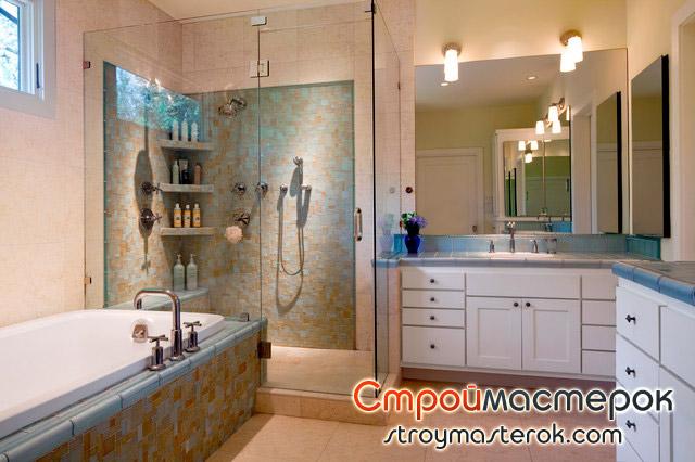 Угловые полки для ванной комнаты