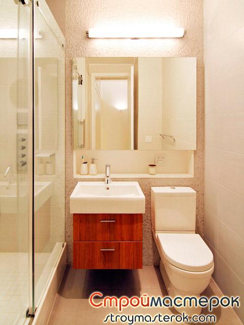 Зеркала в маленькой ванной комнате для увеличения пространства в комнате