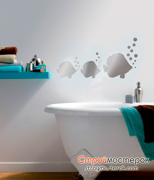 наклейки метилан для ванной