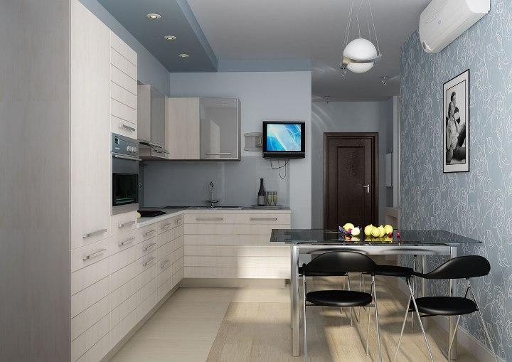 Дизайны кухонь угловые 8 кв.м