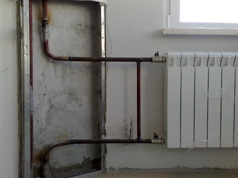 Монтаж радиаторов отопления в квартире