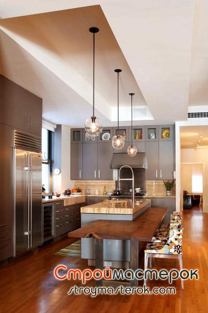 Стильные кухни фото