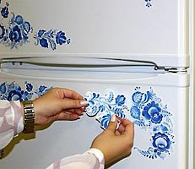 красиво оформляем холодильник