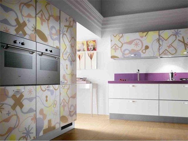 Оформляем фасады на кухне