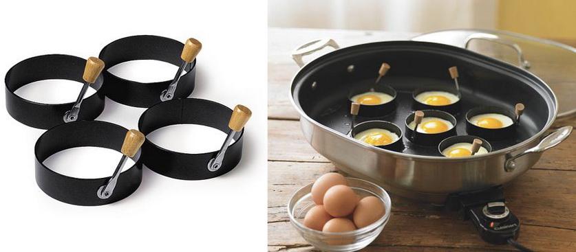 Гаджеты для кухни. Формочки для яичницы