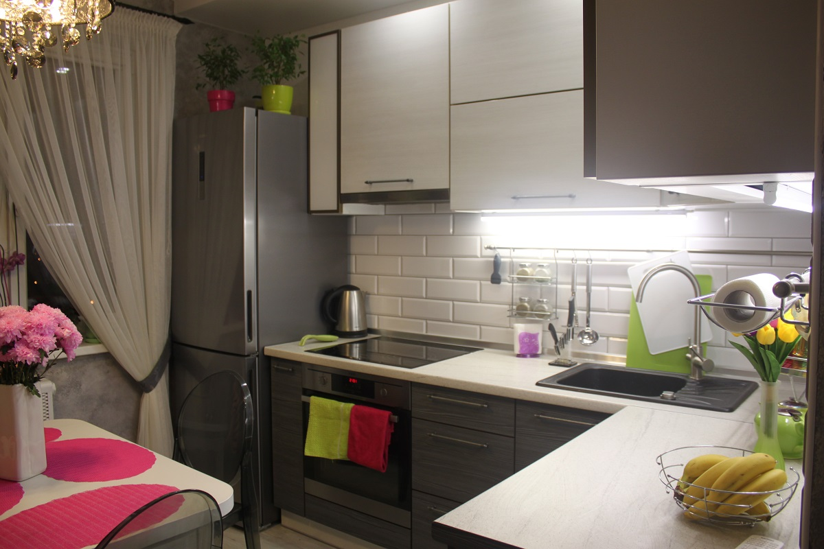 Дизайн кухни 8 кв.м фото новинки.