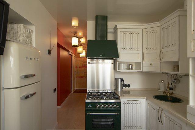 фото кухня 6 кв м