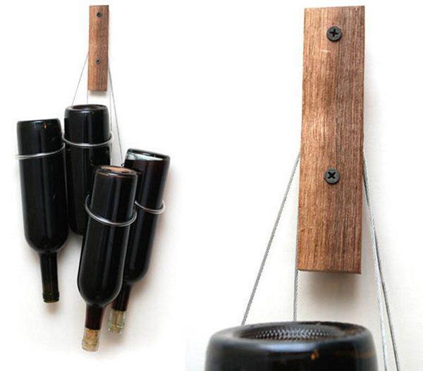 вешалка для винных бутылок