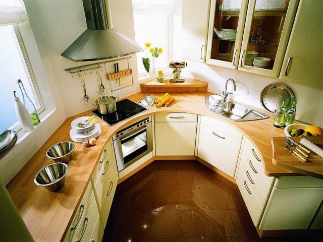 Требования к кухонному пространству