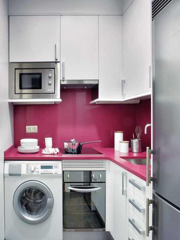 интерьер кухни из корпусной мебели