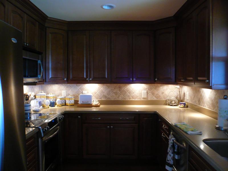 Рабочее освещение на кухне