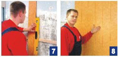 Отделка стен мдф панелями - сборка панелей