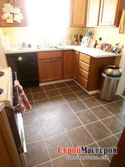 Плитка в кухне