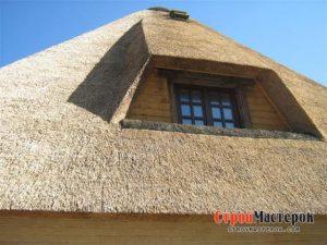 Соломенная крыша3