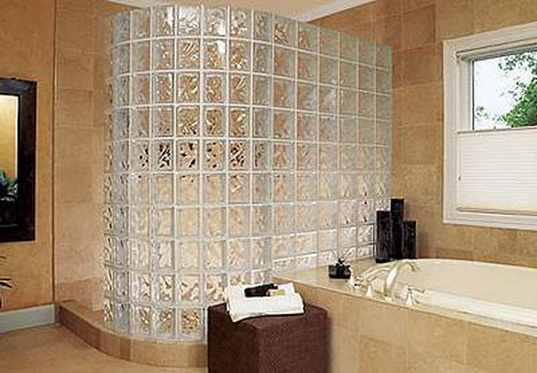 Перегородки в ванной своими руками фото