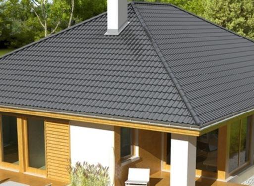 крыша вальмовой формы
