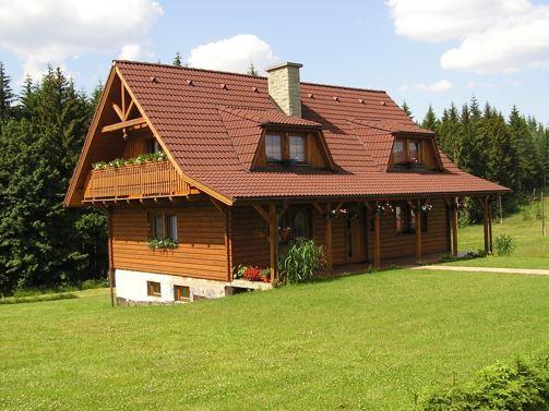 Ломаная форма крыши