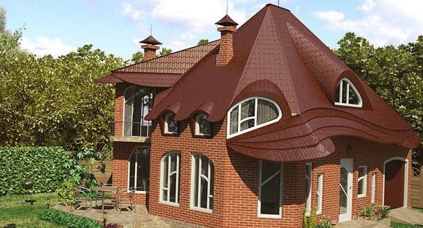 Крыша смешанной формы