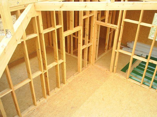 Как сделать межкомнатную перегородку деревянном доме