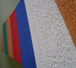 покраска фактурной краской