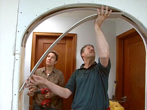 Как сделать в квартире арку своими руками