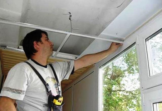 Потолок из пвх панелей своими руками пошаговая инструкция