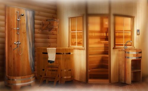 Душевые кабины для бани
