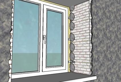 Откосы на окнах своими руками: обустройство маяков
