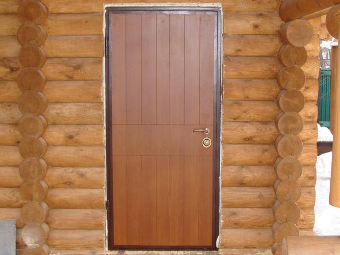 Двери дома своими руками
