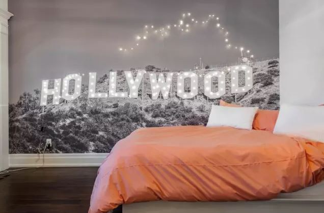 Ремонт в спальне своими руками фото фотообоев
