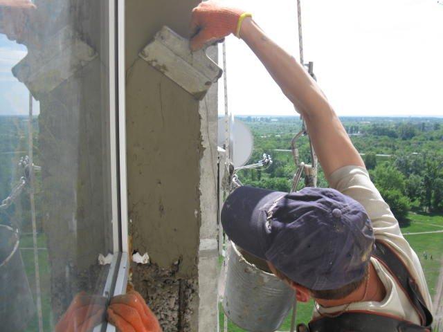 Откосы для пластиковых окон штукатурные своими руками