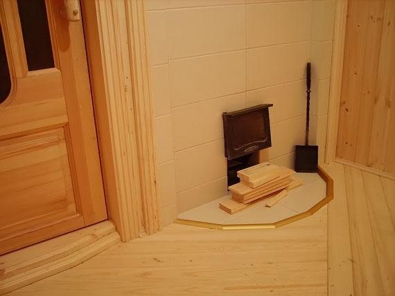 Как сделать теплый предбанник в бане 70