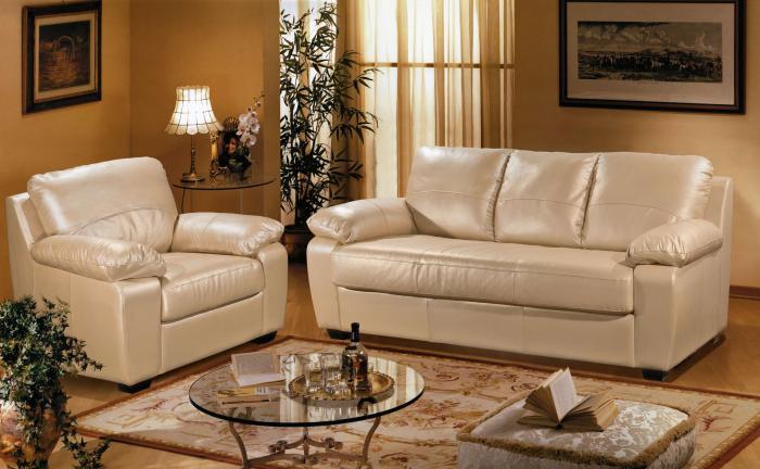 как выбрать кожаную мебель