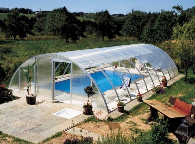 Сборный вид бассейна
