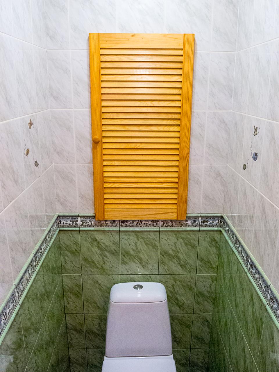 Сделать дверь для туалета